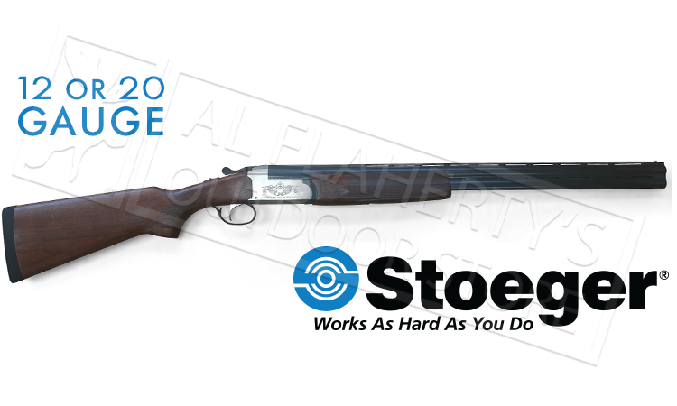 Stoeger IGA Condor Special Shotgun, Nickel plated receiver, Single Trigger #3102x