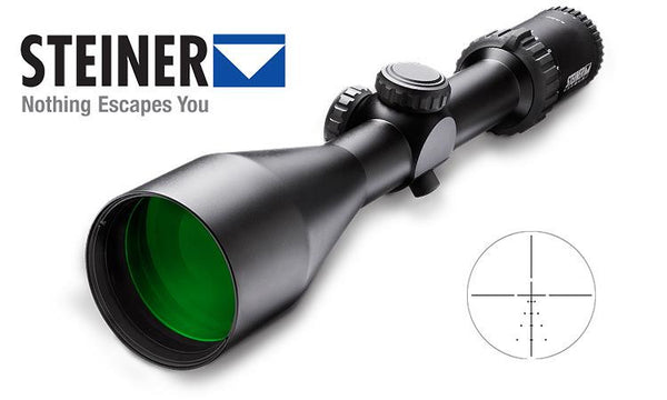Steiner GS3 Scope 3-15x56mm, S1 Ballistic Reticle #S5006 #5006