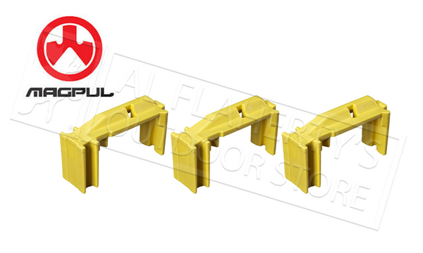 Magpul Enhanced Self-Levelling Follower, USGI 5.56x45 3-Pack, Yellow #MAG110YEL