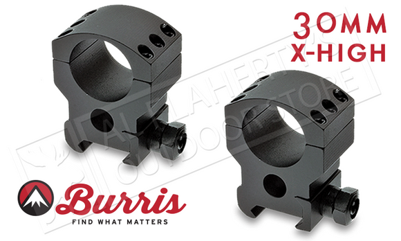 Burris XTR Xtreme Tactical Scope Rings, Extra High, 30mm #420166