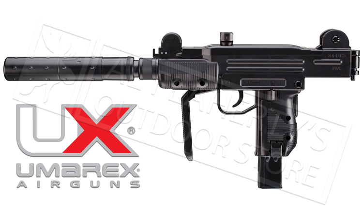 Umarex #2256103 Mini-Uzi with Fake Suppressor, .177 BB