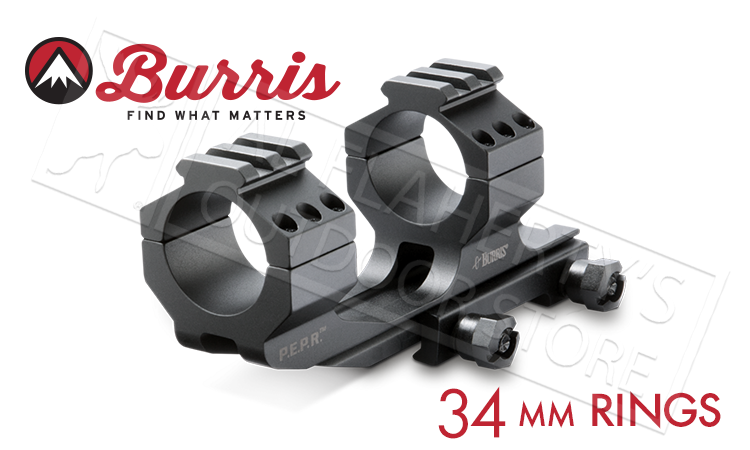 Burris Mount AR-P.E.P.R. 34mm w/Picatinny Top Rings #410345