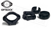 "Optilock Scope Rings, 1"" Extra Low Height, Blued #S1300923"