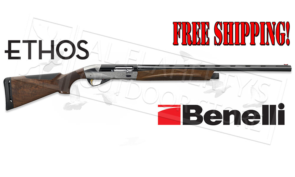 "Benelli Ethos Shotgun, Engraved, 12 Gauge, 3"" Chamber, 28"" or 26"" Barrel"