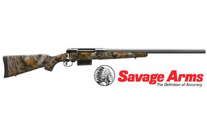 "Savage Arms 212 Bolt Action Shotgun, Camo 12 ga, 3"" Chamber, 22"" Barrel #19044"