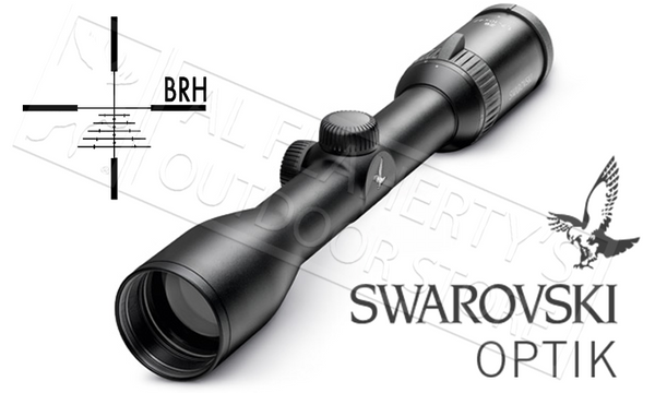 warovski Z6 Scope 1.7-10x42mm with BRH Reticle #59219