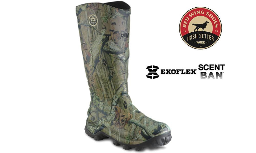 Irish Setter Rutmaster RPM Hunting Boot, 400g Insulated Camo #4895