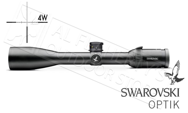 Swarovski Z6 L Scope 3-18x50mm, 4W with Ballistic Turrets #59618