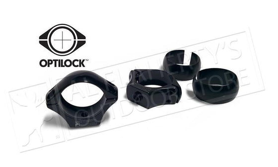 Optilock Scope Rings, 30mm Meduium Height, Blued #S13000964