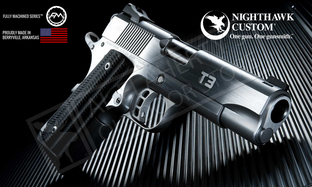 Nighthawk Custom 1911 T3 Stainless, .45ACP