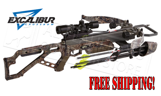 Excalibur Micro 335 LSP Crossbow, Realtree Xtra, 335FPS #3330