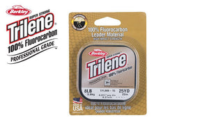 Berkley Trilene 100% Fluoro Leader Material, Clear, 25 Yards, 4 to 8 lb. Test #TFLMxx15