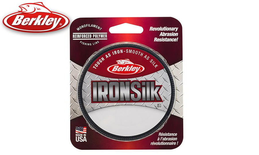 Berkley IronSilk Monofiliment, Green, 300 Yards, 6 to 12 lb. Test #IRFS