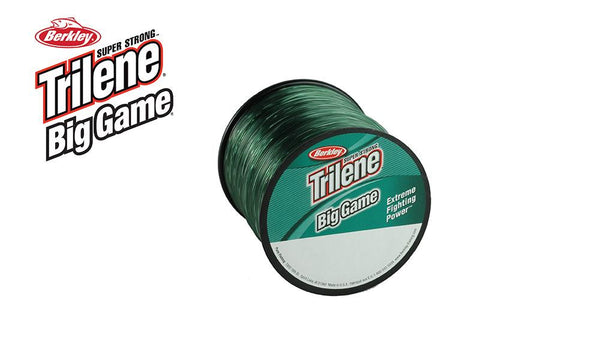 Berkley Trilene Big Game 1/4 Spools, Green, 15 - 60 lbs. #BGQSxx-22