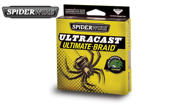 Spiderwire Ultracast Ultimate-Braid Fishing Line, Low-Vis Green, 125 Yard Spools #SCUCxxG