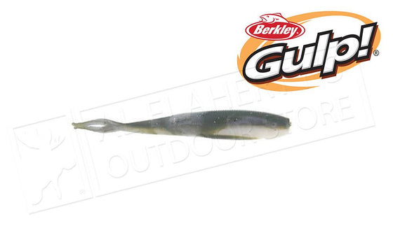 "Berkley Gulp! Floating Minnow, Emerald Shiner Pattern, 3"" Bag of 12  #GFMI3-ES"