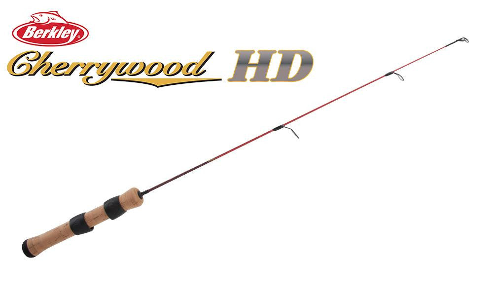 "Berkley Cherrywood HD Ice Fishing Rod, 26"", Medium Light #CWICE26ML"