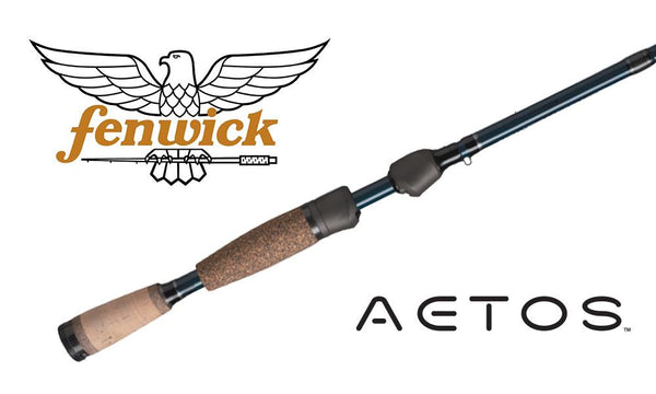 "Fenwick Aetos Ice Fishing Rod, 28"", 2-6 lb. Line, #AICE28MLXFS"