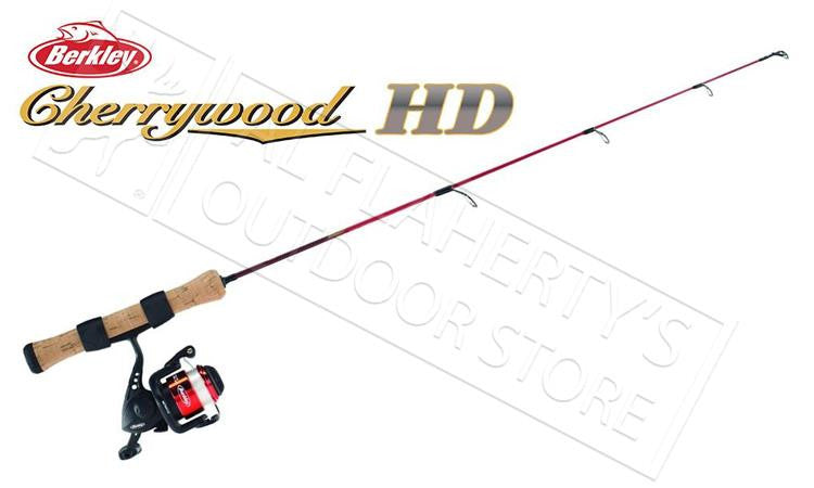 "Berkley Cherrywood HD Ice Fishing Combo, 26"", Light #CWIS26ML"