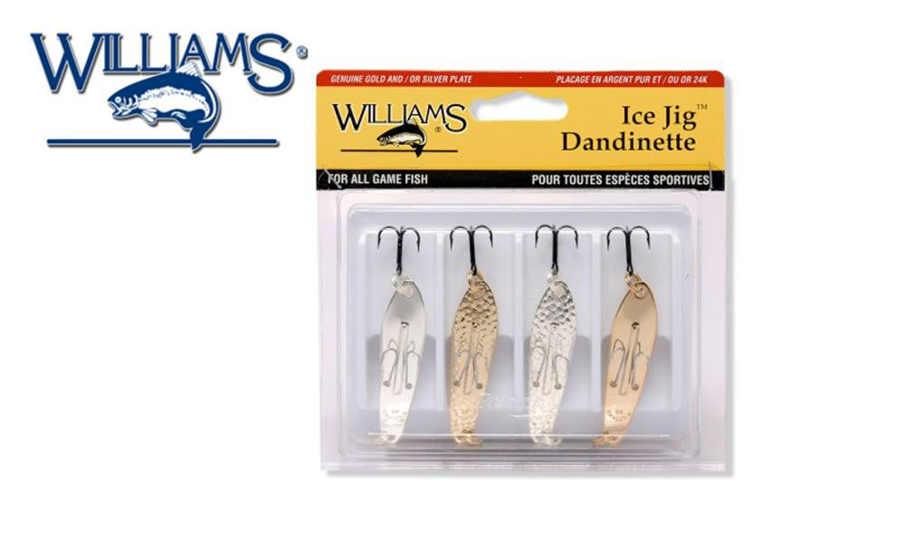 Williams Classics 4-Pack Ice Jig Size J50 #4-J50CL
