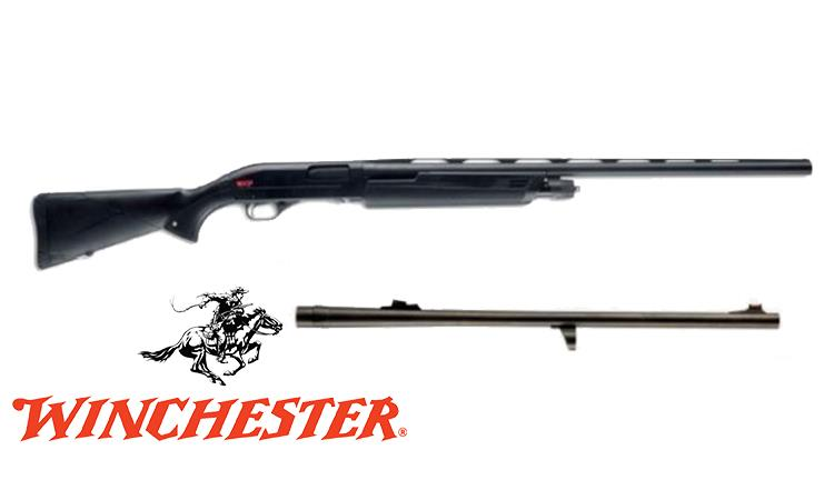 "Winchester SXP Shotgun Buck & Bird Combo, 12 Gauge, 3"" Chamber, 28"" Barrel + 22"" Rifled Barrel #512274392"