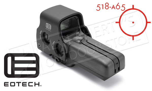 EoTech 518 Holographic Sight with QD Mount and Side Controls #518-0