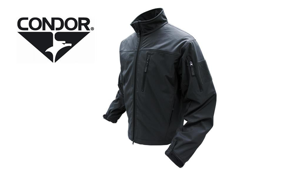 Condor 606 Phantom Soft Shell Jacket - Black - 606002