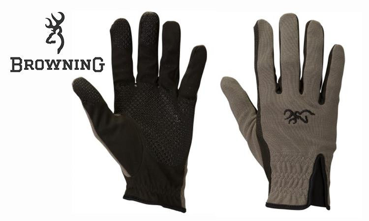 Browning Trapper Creek Mesh Back Shooting Gloves, L - 2XL #30701379