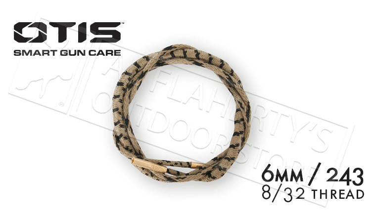 Otis Ripcord Boresnake for 243 and 6mm Rifles #FG-RC-243