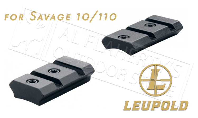 Leupold Mark 4 Savage 10/110 Round Receiver 2-Piece Steel Base #59245