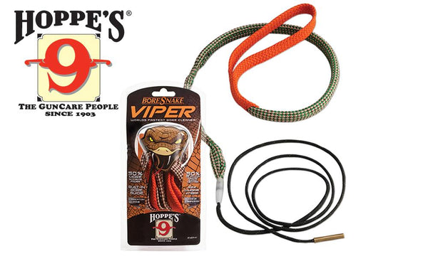 Hoppe's BoreSnake Viper, Rifle - .6mm, .240, .243, .244 Caliber #24012V
