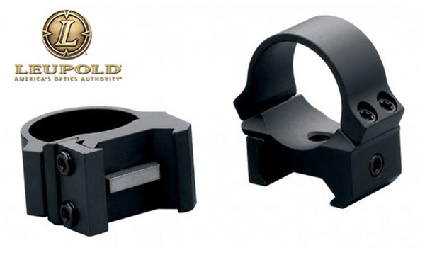 Leupold PRW Scope Rings - 1 Inch Low Height Blued #54144