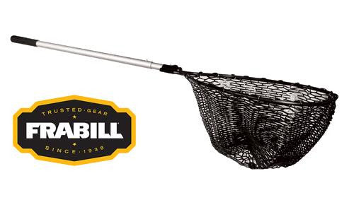 "Frabill Teardrop Sportsman Tangle-Free Rubber Landing Net, 20"" x 23"" #3067"