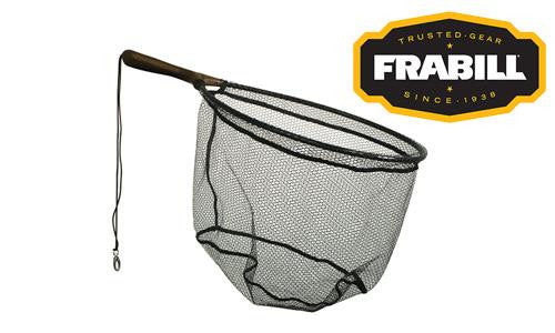 "Frabill Teardrop Trout Net, 13"" x 17"", 7.5"" Handle #3672"