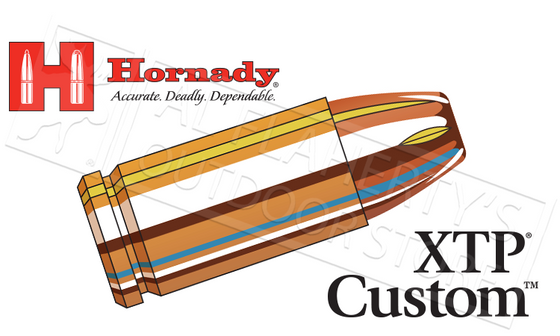 Hornady #90242 9mm Custom, XTP 124 Grain Box of 20