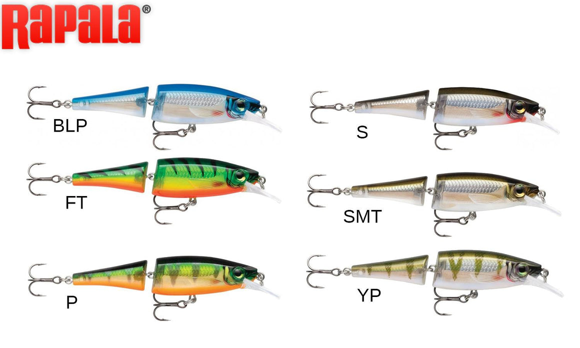 "Rapala BX Jointed Minnow - BXJM09 - 3-1/2"", 5/16 oz, 6' to 8' Depth"