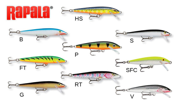 Rapala Original Floater - 7cm 4g, 0.9 - 1.5 Depth, #F07