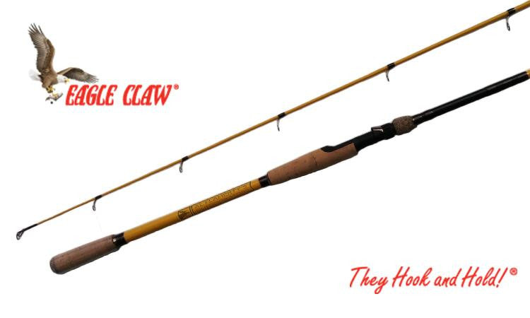 "Eagle Claw Powerlight Rod, 9'0"" Heavy Power, 2-Piece Rod #PLH90S2"