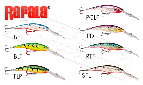 "Rapala Deep Tail Dancer - TDD11 - 4-3/8"" 3/4 oz, 30ft Depth"