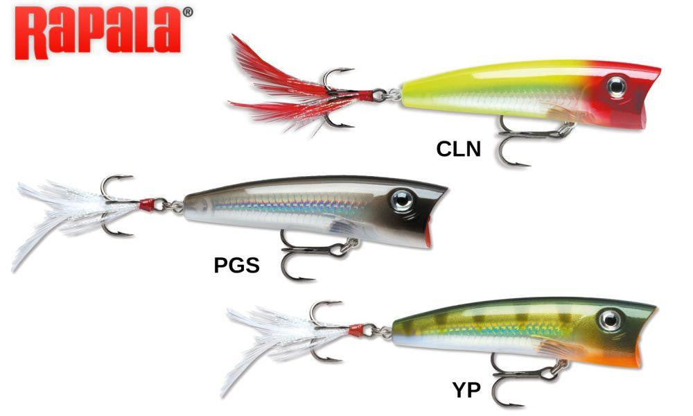 "Rapala X-Rap Pop XRP07 - 2-3/4"", 3/8 oz., Topwater"