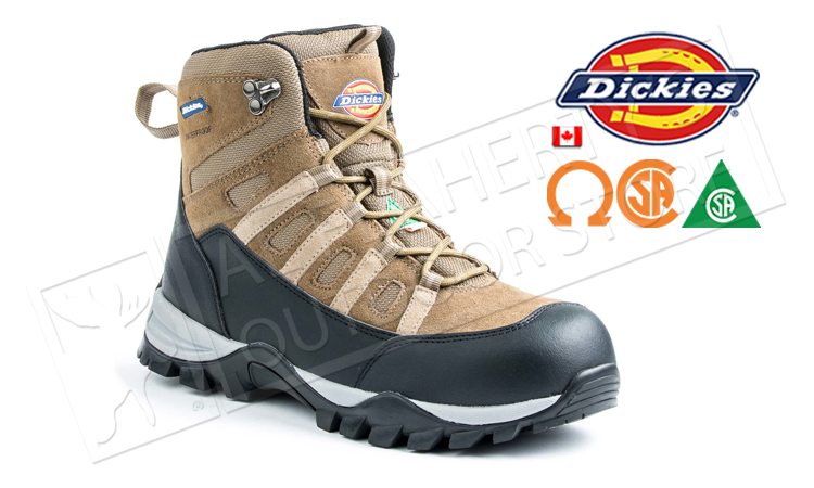 "Dickie's Escape Hiker 6"" Steel-Toed Work Boot #D1422"