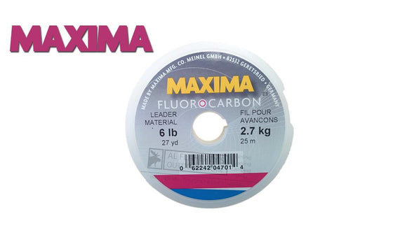Maxima Leader Fluorocarbon Spools, 25 to 15 Meters #MFCL