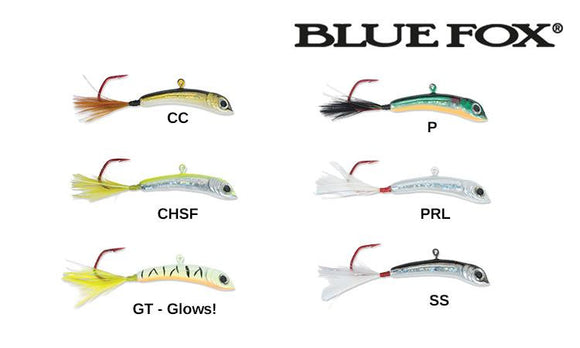 Blue Fox Lil' Foxee Jigging Minnow - 9/16 oz. #LFJM45