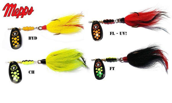 Mepps Black Fury Bucktail Musky Killer, 1/2 oz. #BFM5