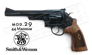 "Smith & Wesson Model 29 Revolver, .44 Magnum with 6.5"" Barrel & Wood Grips #150145"