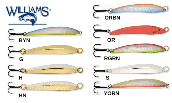 "Williams Whitefish Size C70, 4-1/4"", 3/4 oz."