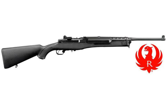 Ruger Mini-14 Ranch Rifle, Black Synthetic, 5.56 NATO / .223 REM #5855