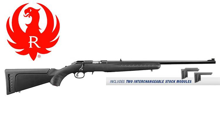 Ruger American Rimfire Rifle, .22 LR or WM #83xx