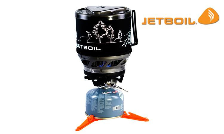 JetBoil MiniMo Cooking System - Carbon with Line Art #MNMO-CLA