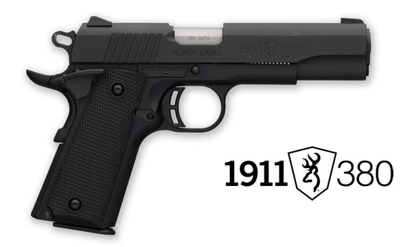 "Browning Black Label 1911-380 Pistol, 4-1/4"" Barrel 18 oz. #051904492"